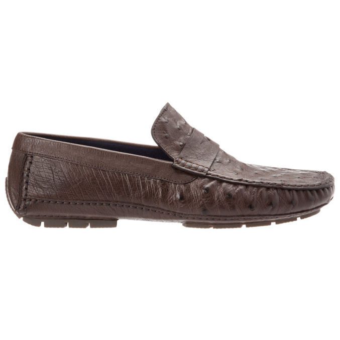 Stemar 227558 Ostrich Driving Loafers